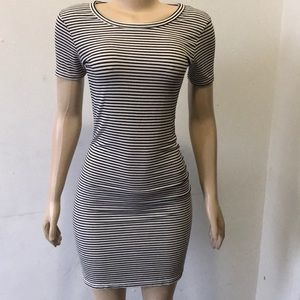 Dresses & Skirts - 💥💥Don't Ask WHY ONE SIze striped dress 💥💥